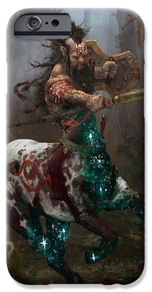 Centaur Token IPhone 6s Case by Ryan Barger