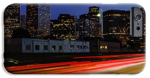 Beverly Hills iPhone 6s Case - Century City Skyline At Night by Paul Velgos
