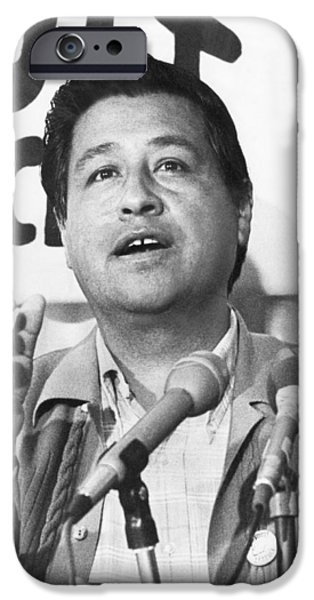 Cesar Chavez Announces Boycott IPhone 6s Case by Underwood Archives
