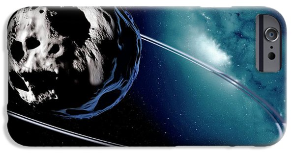 Chariklo Minor Planet And Rings IPhone 6s Case by Detlev Van Ravenswaay