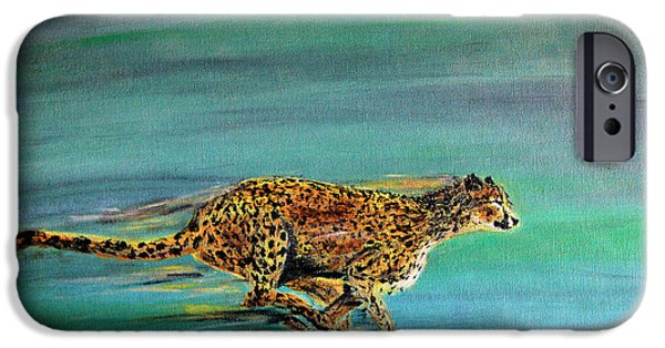 Cheetah Run IPhone 6s Case