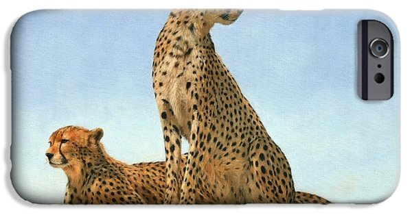 Cheetahs IPhone 6s Case by David Stribbling