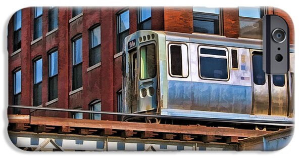 Chicago El And Warehouse IPhone 6s Case by Christopher Arndt