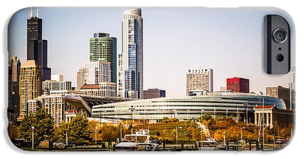 Chicago Skyline With Soldier Field IPhone 6s Case by Paul Velgos