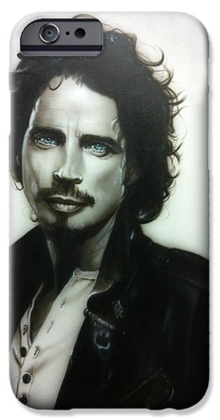 Contemporary Realism iPhone 6s Case - Chris Cornell by Christian Chapman Art