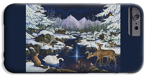 Otter iPhone 6s Case - Christmas Wonder by Lynn Bywaters
