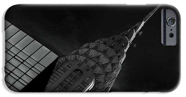 Chrysler Building iPhone 6s Case - Chrysler by Hans-wolfgang Hawerkamp