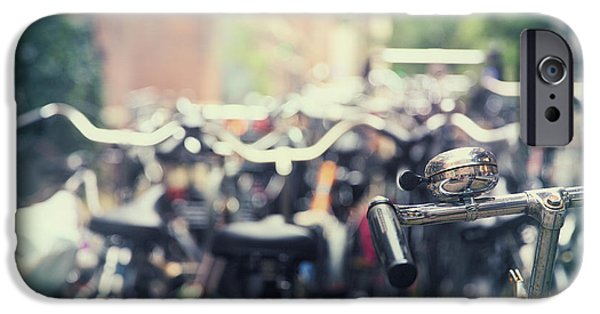 Bicycle iPhone 6s Case - City Of Bikes by Jane Rix