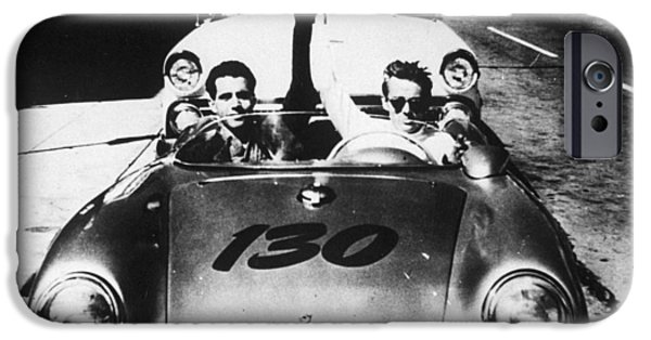 Classic James Dean Porsche Photo IPhone 6s Case by Georgia Fowler