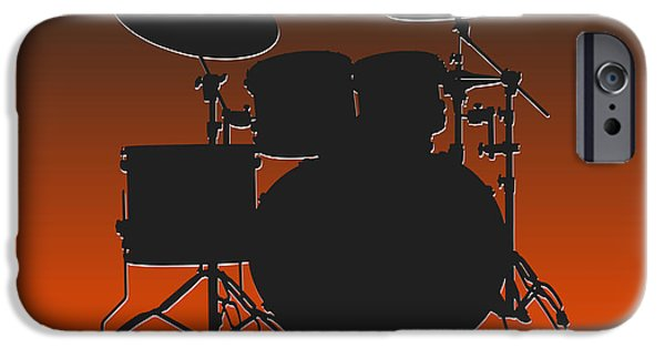 Cleveland Browns Drum Set IPhone 6s Case by Joe Hamilton