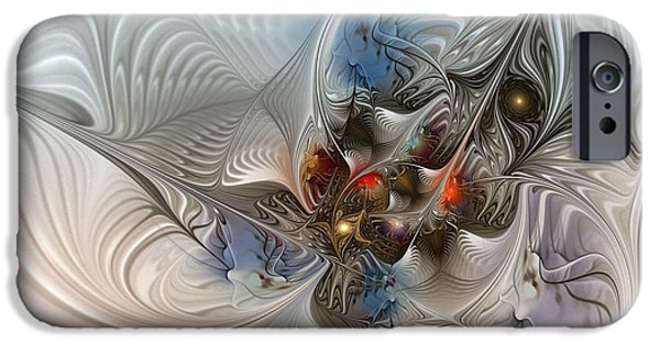 Cloud Cuckoo Land-fractal Art IPhone 6s Case by Karin Kuhlmann