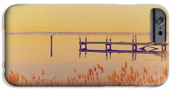 New England Coast iPhone 6s Case - Coastal Winter by Karol Livote