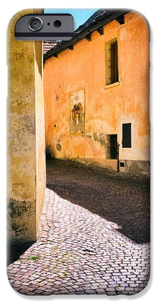 IPhone 6s Case featuring the photograph Cobbled Street by Silvia Ganora