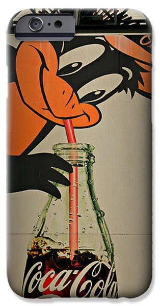 Coca Cola Orioles Sign IPhone 6s Case by Stephen Stookey