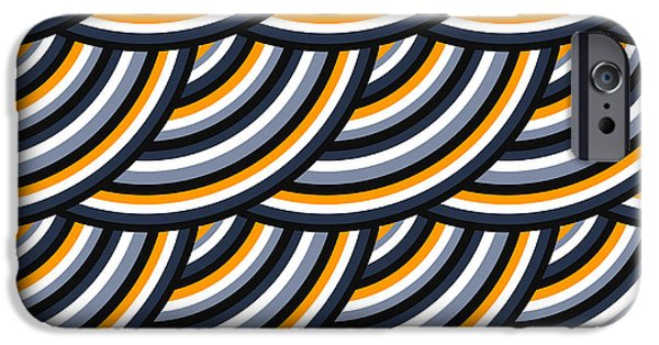 Space iPhone 6s Case - Colored Geometric Background Wallpaper by Vector Corporation