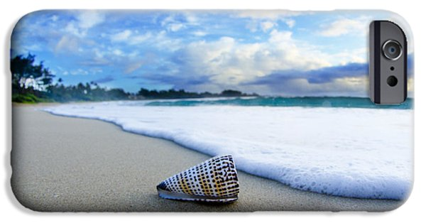 Beach iPhone 6s Case - Cone Foam by Sean Davey