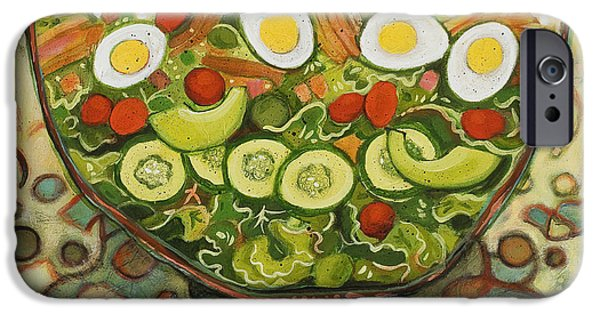 Cool Summer Salad IPhone 6s Case by Jen Norton