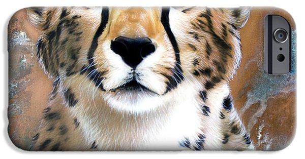 Cheetah iPhone 6s Case - Copper Flash - Cheetah by Sandi Baker