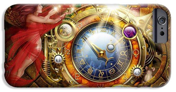 Cosmic Clock IPhone 6s Case by Ciro Marchetti