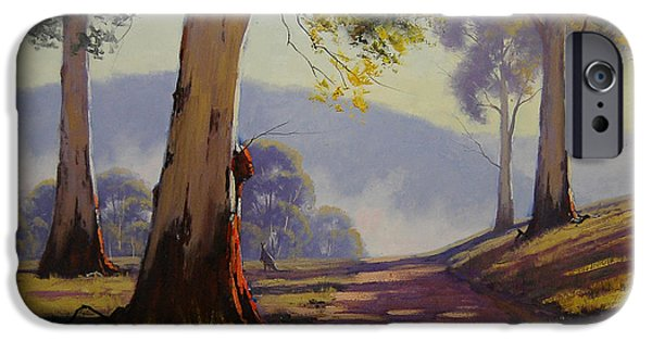 Kangaroo iPhone 6s Case - Country Road Australia by Graham Gercken