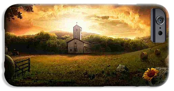 Country Side Painting IPhone 6s Case