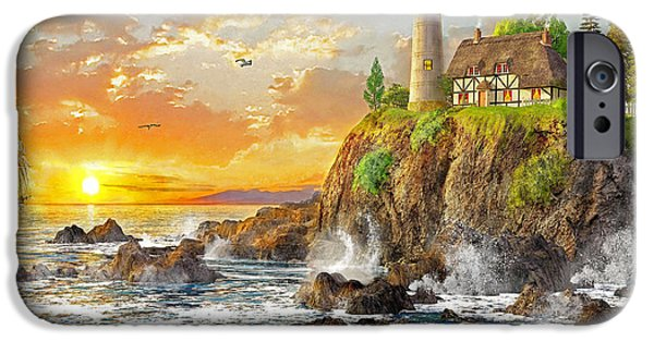 New England Coast iPhone 6s Case - Craggy Cove by Dominic Davison