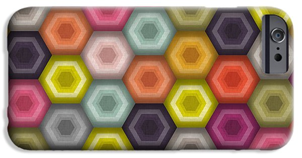 Crochet Honeycomb IPhone 6s Case by Sharon Turner