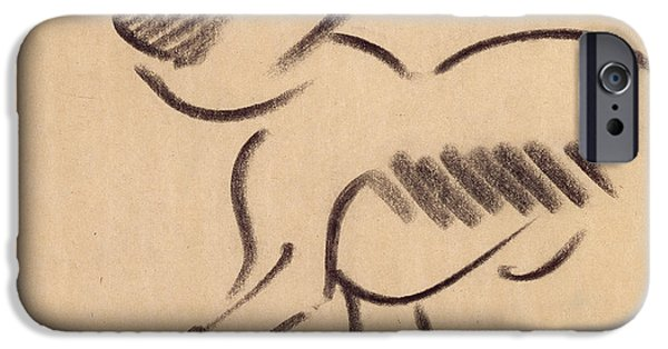 Crouching Monkey IPhone 6s Case by Henri Gaudier-Brzeska