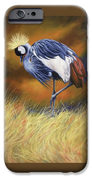 Crane iPhone 6s Case - Crowned by Lucie Bilodeau