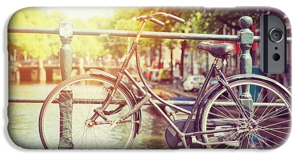 Bicycle iPhone 6s Case - Cycle In Sun by Jane Rix