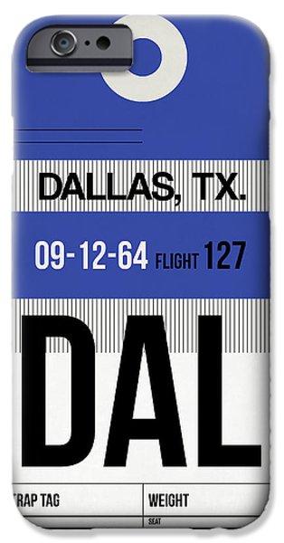 Dallas iPhone 6s Case - Dallas Airport Poster 1 by Naxart Studio