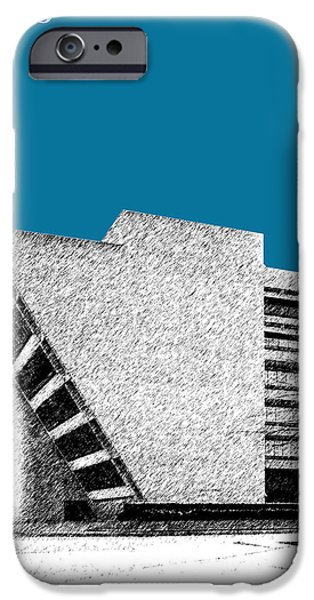 Dallas Skyline City Hall - Steel IPhone 6s Case