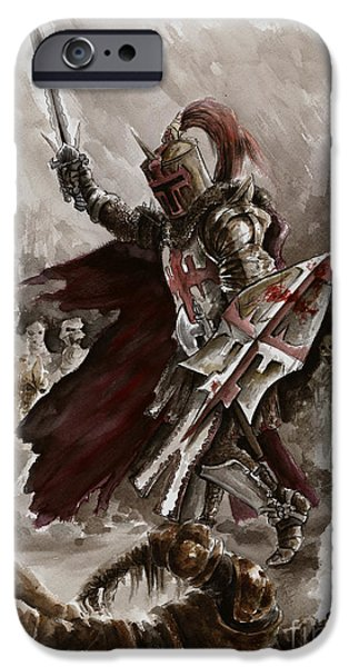 Dungeon iPhone 6s Case - Dark Crusader by Mariusz Szmerdt