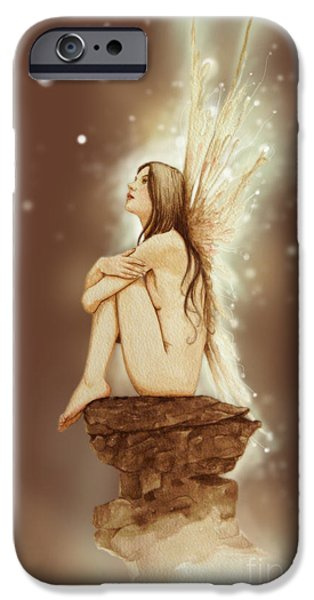 Fantasy iPhone 6s Case - Daydreaming Faerie by John Silver