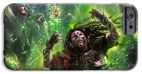 Elf iPhone 6s Case - Death's Presence by Ryan Barger