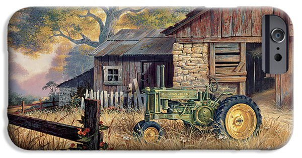 Landscape iPhone 6s Case - Deere Country by Michael Humphries