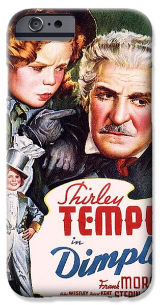 Shirley Temple iPhone 6s Case - Dimples by Movie Poster Prints