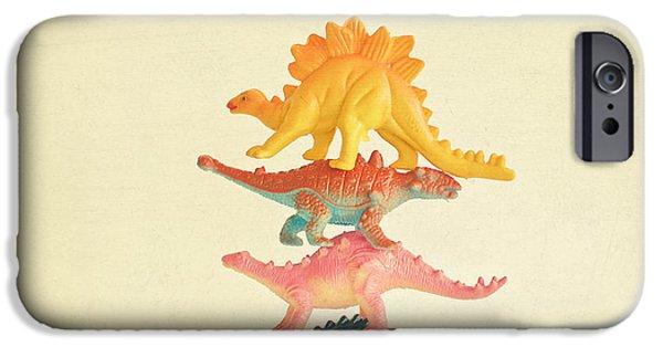 Dinosaur Antics IPhone 6s Case by Cassia Beck