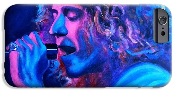 Robert Plant iPhone 6s Case - Does Anybody Remember Laughter? by Tom Carlton