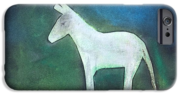Donkey, 2011 Oil On Canvas IPhone 6s Case by Roya Salari