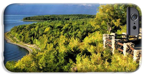 Door County Peninsula State Park Svens Bluff Overlook IPhone 6s Case by Christopher Arndt