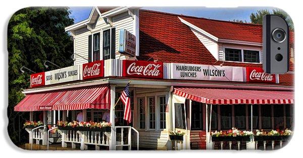 Door County Wilson's Ice Cream Store IPhone 6s Case by Christopher Arndt