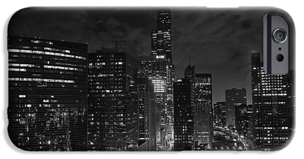 Downtown Chicago At Night IPhone 6s Case by Ricky L Jones