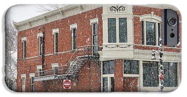 Whitehouse iPhone 6s Case - Downtown Whitehouse  7031 by Jack Schultz