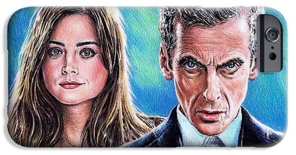 Dr Who And Clara IPhone 6s Case