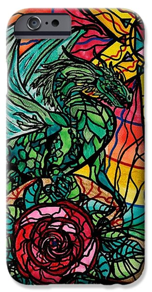 Dragon iPhone 6s Case - Dragon by Teal Eye  Print Store