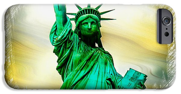 Statue Of Liberty iPhone 6s Case - Dreams Of Liberation by Az Jackson