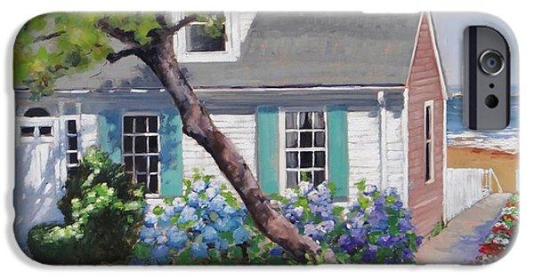 New England Coast iPhone 6s Case - Dreamscape Two by Laura Lee Zanghetti