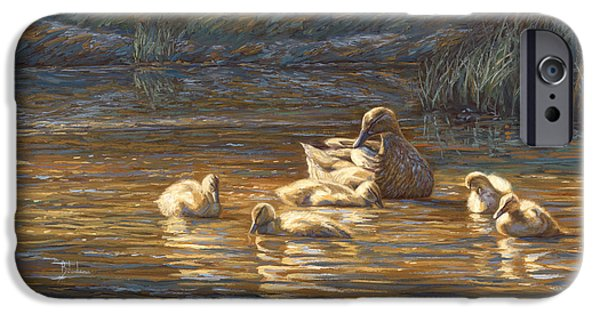 Ducks IPhone 6s Case by Lucie Bilodeau