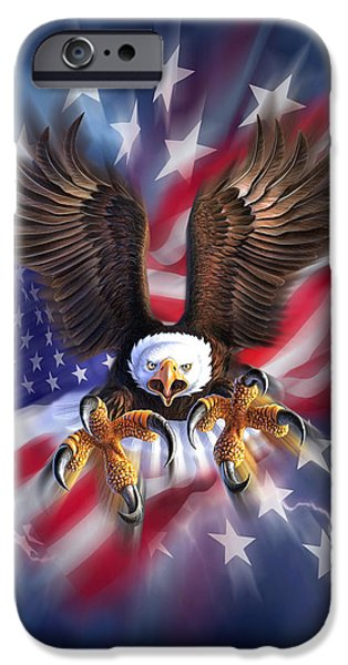 Eagle iPhone 6s Case - Eagle Burst by Jerry LoFaro